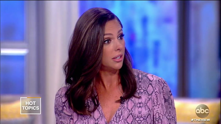 'The View's' Abby Huntsman Finally Convinced Trump's a Criminal: 'This Is Extortion'