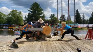 59th annual Lumberjack World Championships in Hayward