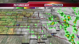 StormTRACKER Friday Forecast: Showers Today... Clearing tomorrow