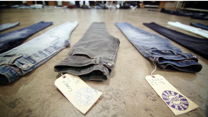 Lasers! Gas! Waterproof Pants! How Levi Strauss & Co. Keeps Improving Jeans
