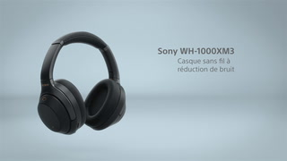 Casque Audio Sony Wh 1000xm3 Casque Hi Res Bluetooth à Réduction De