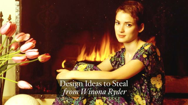 Winona Ryder's House Shows How to Make Your Home Comfortable for Anybody