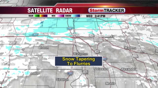 Snow Ending Tonight... but More Snow Friday