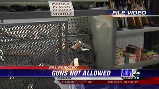 ND gun bill rejected by senate Saturday