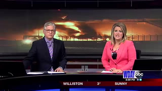 EMT's receive list of chemicals possibly released by West Fargo tank fire