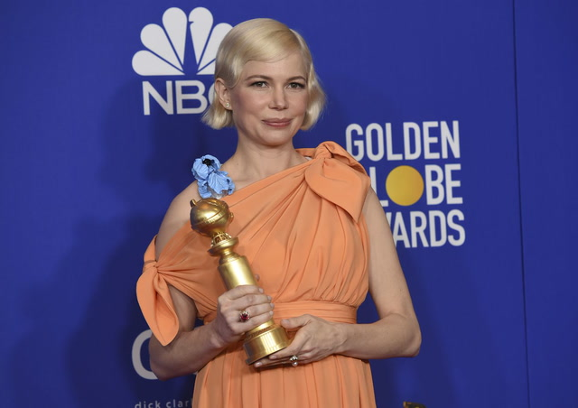 Highlights from Michelle Williams's empowering Golden Globes acceptance speech