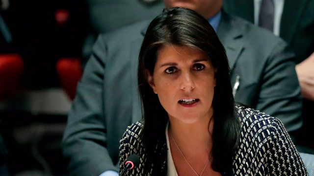 Nikki Haley says she's not 'confused'
