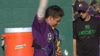 Sacred Heart Baseball Tops Fertile-Beltrami in Section 8A Round One