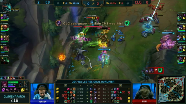 Cloud9 vs. Counter Logic Gaming - Game 3 Highlights - NA LCS - Worlds Qualifier 2017