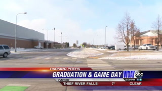 Winter commencement and Bison game: NDSU plans ahead for parking