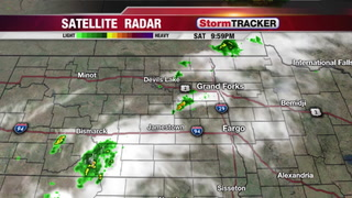 StormTRACKER Saturday Night Update