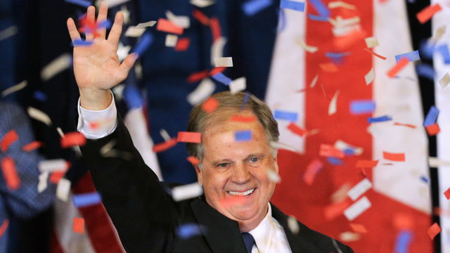 Politicians react to Alabama with congratulations for Jones and blame for Bannon