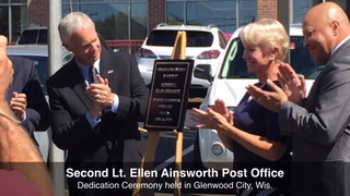 Glenwood City Post Office Dedication