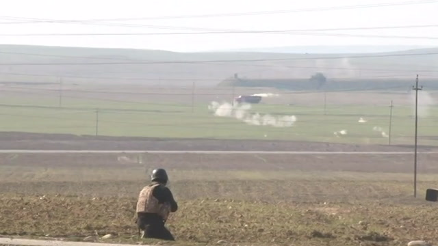 Attempted ISIS chemical attack on Kurdish positions near Mosul
