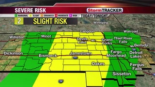 StormTRACKER Forecast: Strong/Severe Storms Possible Today