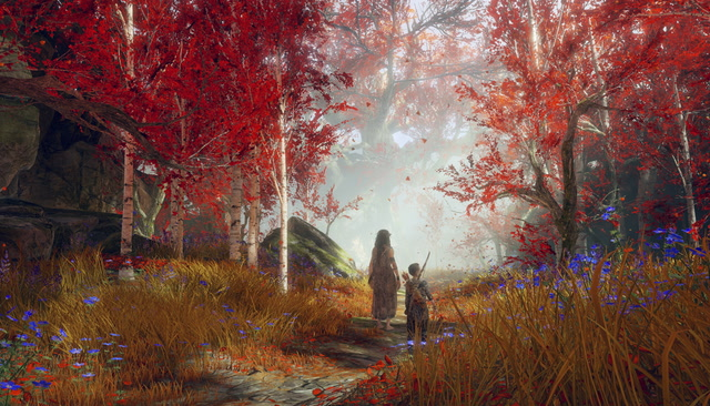 Check Out One of God of War's Prettiest Areas!