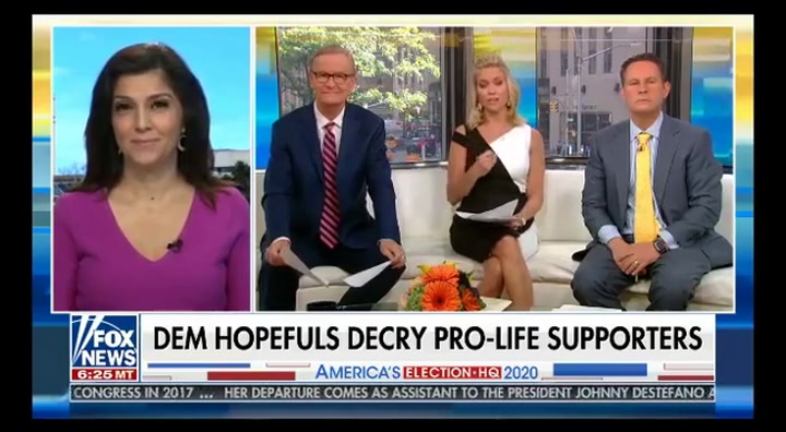 Fox News Contributor Rachel Campos-Duffy Compares Abortion to Slavery