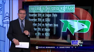 UND's Women's Basketball schedule features tough opponents