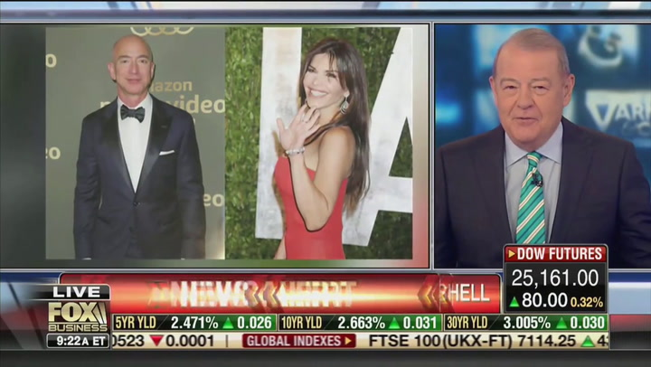 Judge Napolitano: National Enquirer Bezos Blackmail Accusation Could Be 'Bad News' for Trump