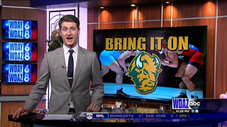Bison wrestlers rally to knock off No. 18 Central Michigan