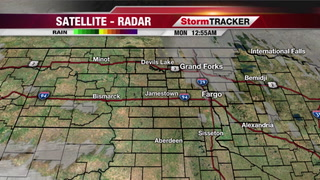 StormTRACKER Weather Webcast Monday Morning
