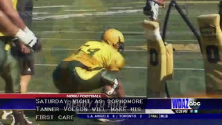 Volson stepping up for NDSU