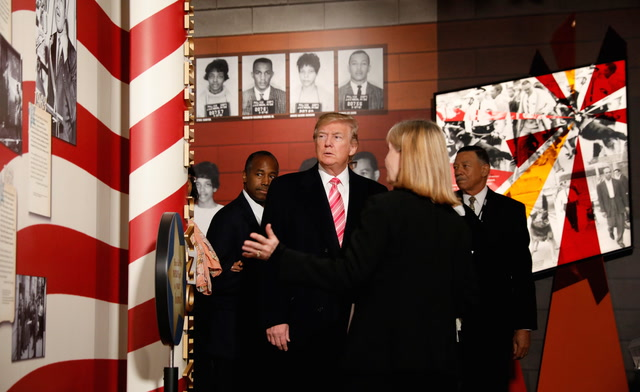 Watch Trump's full speech at the Mississippi Civil Rights Museum