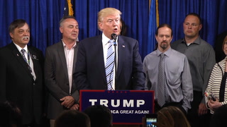 Trump talks energy