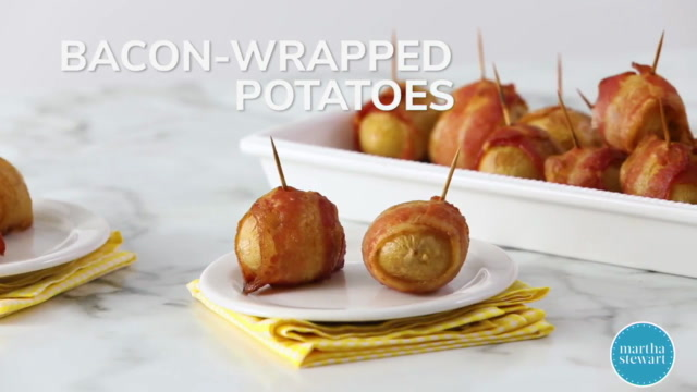 Bacon-Wrapped Potatoes Video