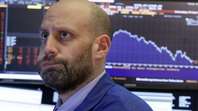 Why is the Dow plunging?