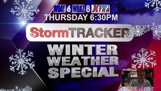 StormTRACKER Winter Weather Special Tonight 6:30 PM CDT
