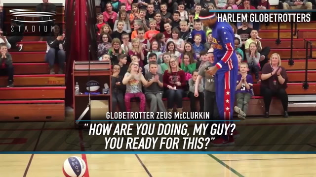 Harlem Globetrotters Star Surprises Kid With Rare Genetic Condition
