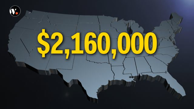 If only your salary grew like the U.S. Open purse