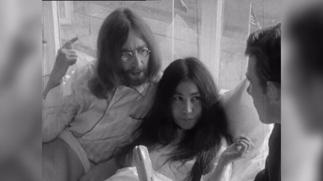 John Lennon: 'We're going to stay in bed for seven days'