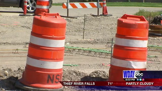 Sheyenne Street construction set back due to bad weather