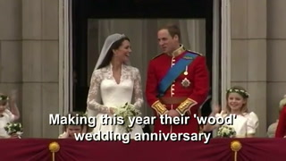 William and Kate celebrate fifth wedding anniversary