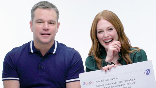 Matt Damon & Julianne Moore Answer the Web's Most Searched Questions