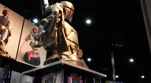 A Boba Fett Kenner-Style Figure for Giants - Comic-Con 2018