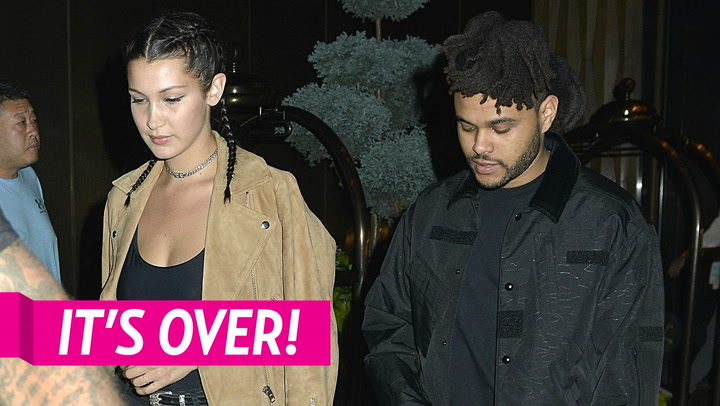Bella Hadid Ditches L.A. Nightclub Minutes After Ex The Weeknd Arrives