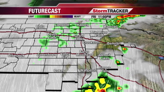 StormTRACKER Forecast Friday Night Update