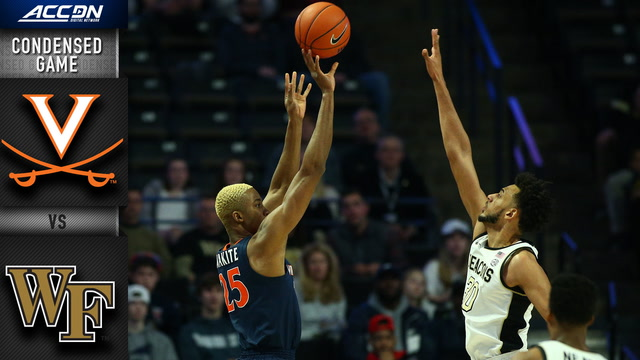 Virginia vs. Wake Forest Condensed Game | 2019-20 ACC Men's Basketball
