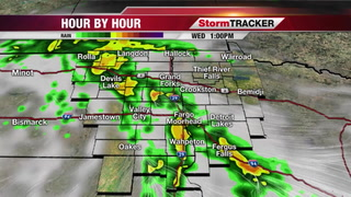 StormTRACKER Weather Webcast Tuesday Overnight