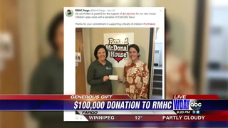 Ronald McDonald Houses in the FM area receive generous donation