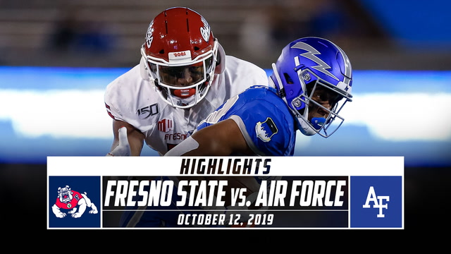 Fresno State vs. Air Force Football Highlights (2019)