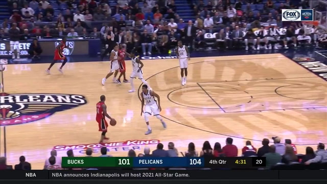 MUST SEE: Boogie flushes it on the run in 4th vs. Bucks
