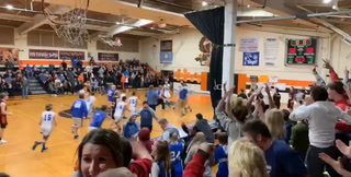 Carlton's Spencer Rousseau sinks half-court buzzer-beater