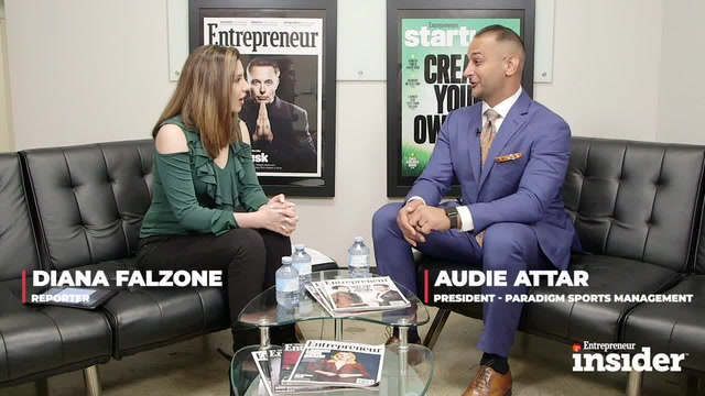 Entrepreneur Insider Video of the Week: Conor McGregor's Business Partner's Rise to the Pinnacle of Sports Management