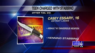 Detroit Lakes teen charged after stabbing Fergus Falls man