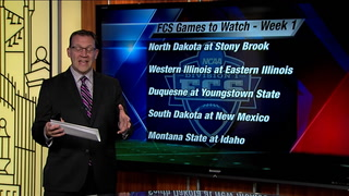 Bison Video Blog: FCS Games To Watch