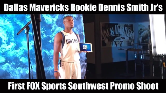 Dennis Smith Jr's First FOX Sports Southwest Promo Shoot | The Scoop